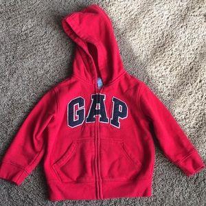 True red Gap hoodie